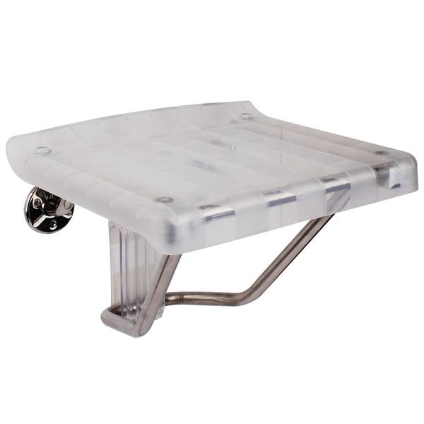 DreamLine Folding Shower Seat. Plastic Shower Seat
