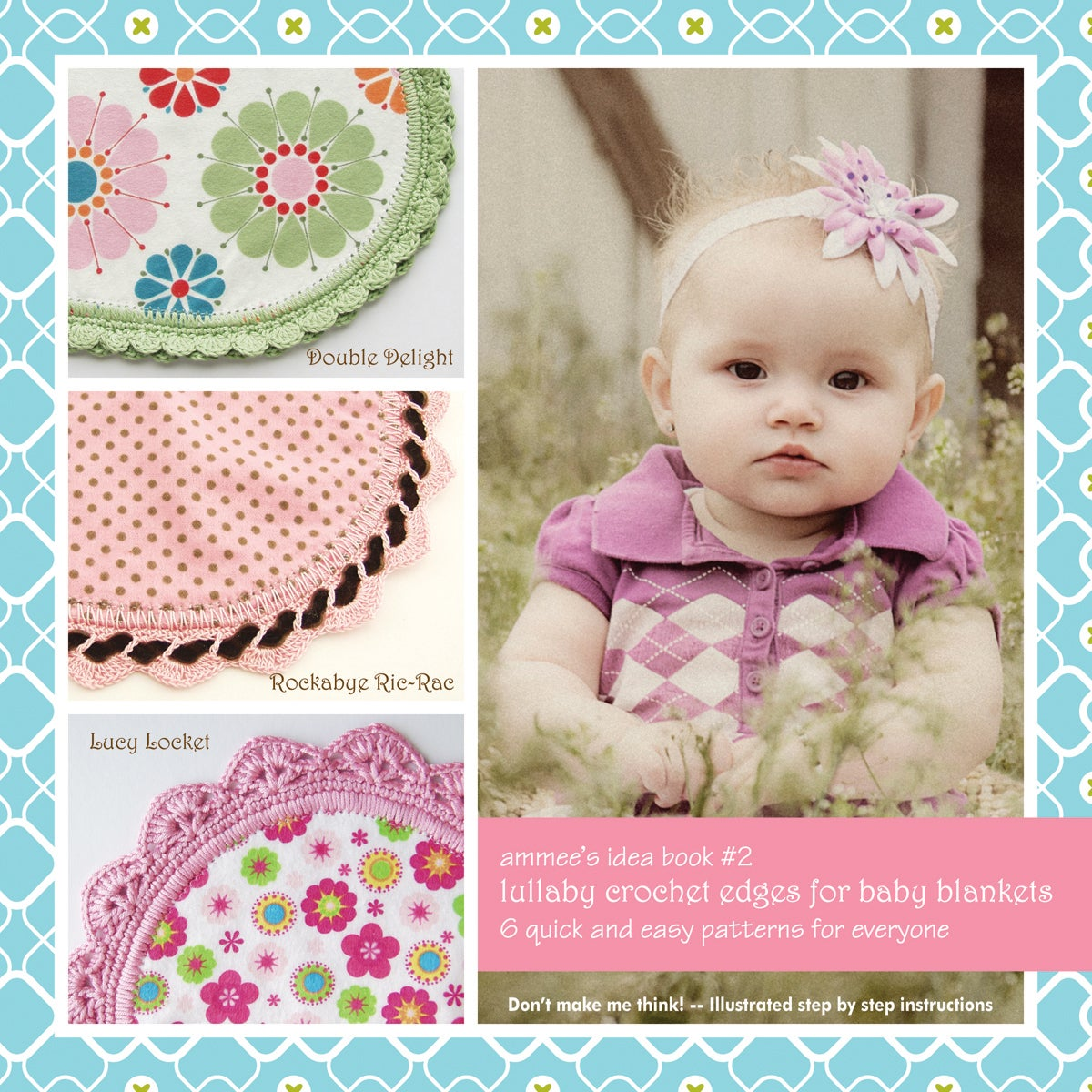 Ammee's Babies Lullaby Crochet Edges For Baby Blankets (L...