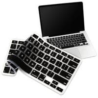INSTEN Black Soft Silicone Keyboard Skin Shield for Apple MacBook Pro