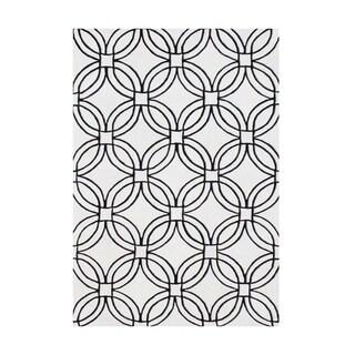 Alliyah Handmade Off-white New Zealand Blend Wool Rug (9' x 12')