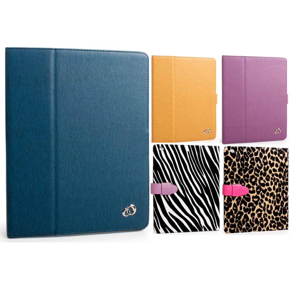 Kroo 'Titan' iPad 3 Porfolio Case with Built-in Stand