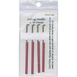 Felting Needles 4/Pkg-Size 40 Triangle