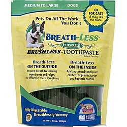 Ark Naturals Breathless Toothpaste for Medium to Large Breeds (18 ounces)