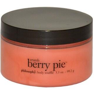 Philosophy Crumb Berry Pie 3.5-ounce Body Souffle