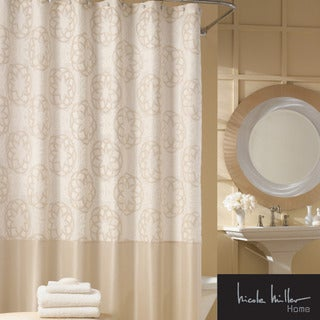 Nicole Miller Isfahan Shower Curtain   Free Shipping On Orders Over $45    Overstock.com   14287747
