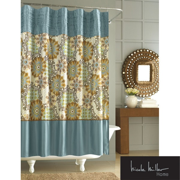 Nicole Miller Marrakesh Express Shower Curtain