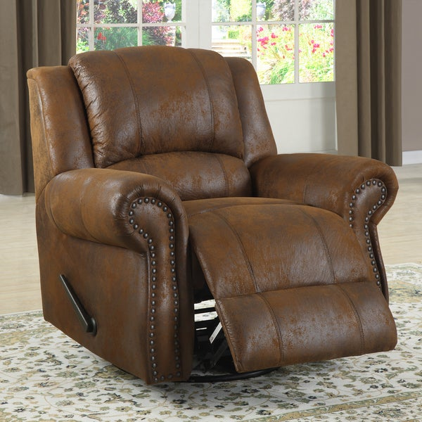 Canvey Brown Swivel Rocking Reclining Chair