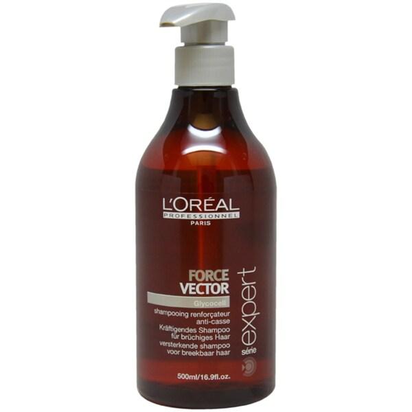 L'Oreal Serie Expert Force Vector 16.9-ounce Shampoo