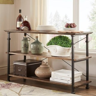 TRIBECCA HOME Myra Vintage Industrial TV Stand