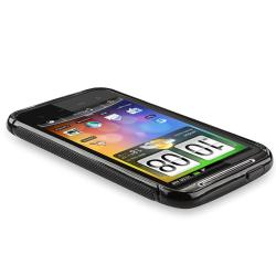 INSTEN TPU Case Cover/ Screen Protectors/ Car Charger for HTC Inspire 4G/ Desire HD - Thumbnail 2