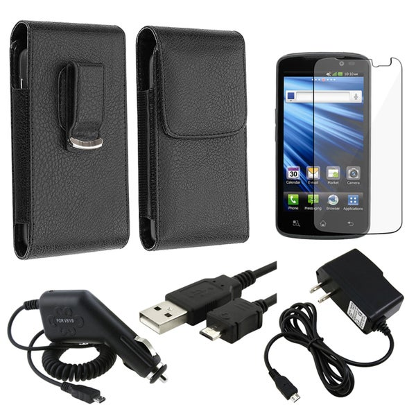 Case/ Screen Protector/ Chargers/ USB Cable for LG Nitro HD P930