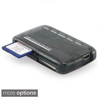 INSTEN Smoke All-in-1 Portable Memory Card Reader