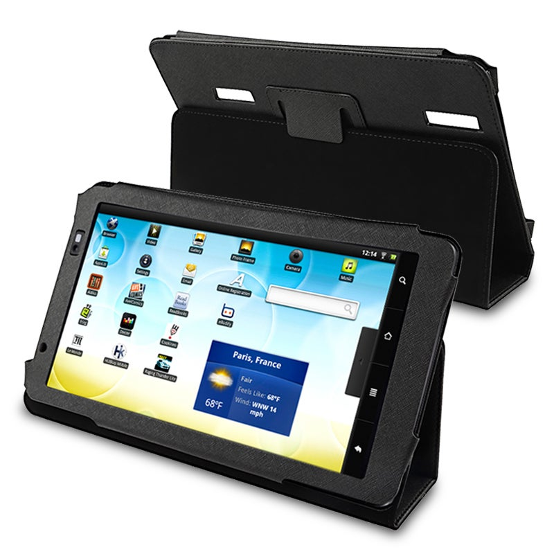 BasAcc Black Leather Case for Archos 101 Internet Tablet - Thumbnail 0