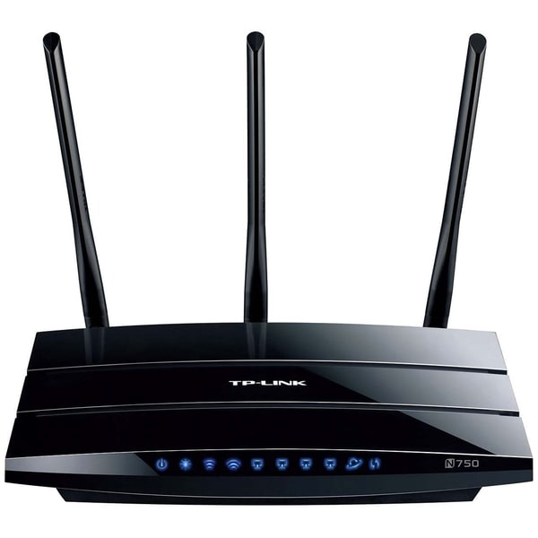 TP-LINK TL-WDR4300 Wireless N750 Dual Band Router, Gigabit, 2.4GHz 30