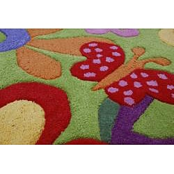 Jovi Home Hand-tufted Bloom Cotton Rug (5' x 7')