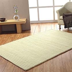 Jovi Home Handmade Ivory Wool Rug (8' x 11')