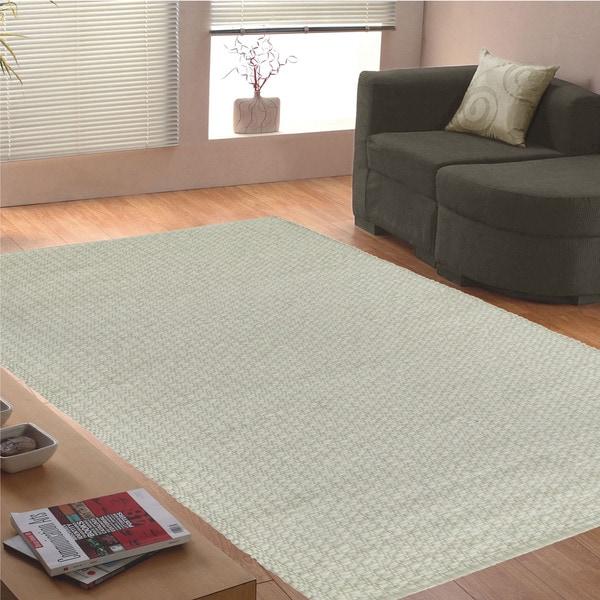 Jovi Home Knit Handmade Berber Wool Rug (4' x 6')