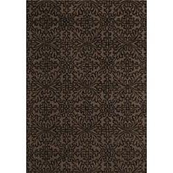 Jovi Home Ensemble Hand-tufted Taupe Wool Rug (8' x 11')