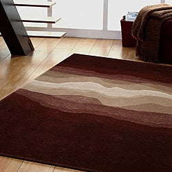 Jovi Home Cosmos Hand-tufted Brown Wool Rug (8' x 11')
