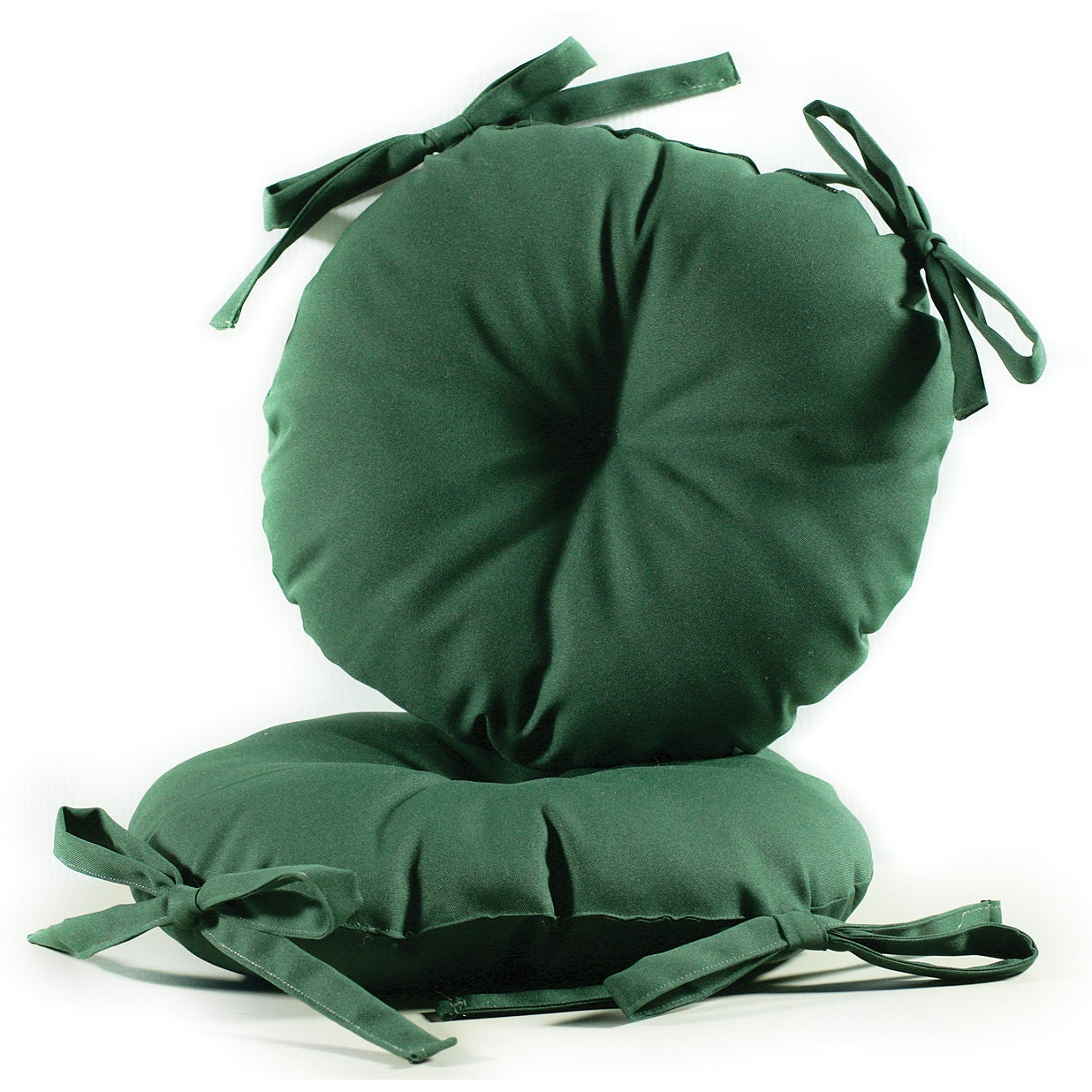 Shop Green 17 Inch Round Indoor Outdoor Bistro Chair Cushion Set Of