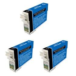 Epson T126 T126100 Remanufactured Black Ink Cartridges (Pack of 3) (Refurbished)