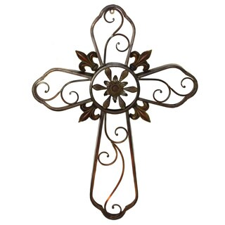 Wall Cross Metal Wall Sculpture