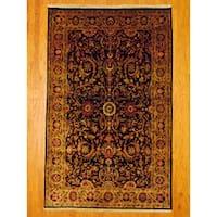 Handmade Herat Oriental Indo Mahal Wool Rug - 5'8 x 9'1 (India)