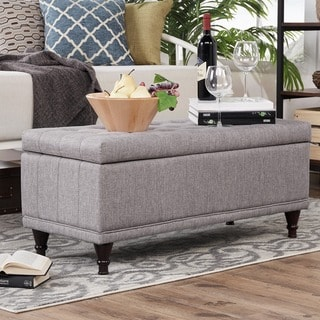 St Ives Lift Top Tufted Storage Bench by INSPIRE Q
