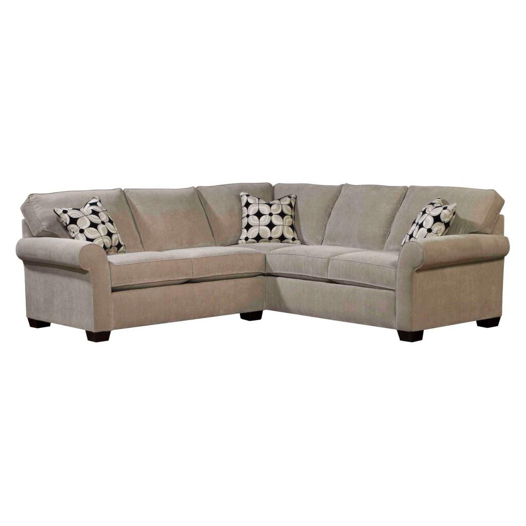 - Shop Broyhill Ellen Stone 2 Piece Sectional - Overstock - 6748953