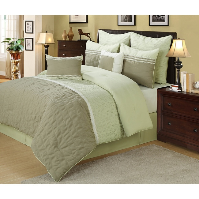 Julian Tan 8-piece Comforter Set