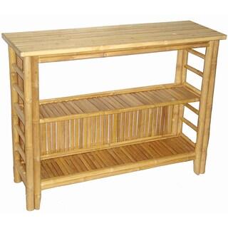Handmade Bamboo Buffet/Console/End Table (Vietnam)