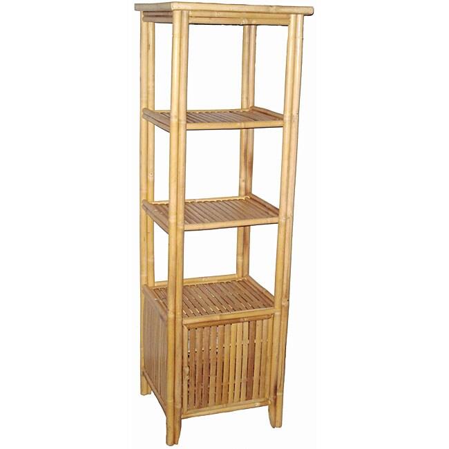 Bamboo Four-Tier Shelf (Vietnam)