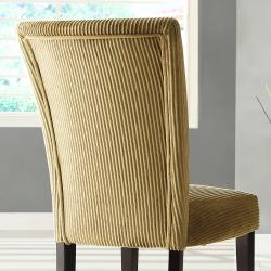 Parson Brown Sugar Corduroy Dining Chairs (Set of 2) - Thumbnail 2