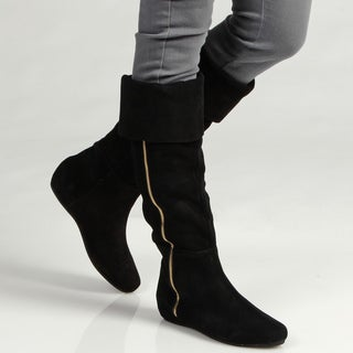 Steve Madden Women's P-Laney Leather Boots FINAL SALE