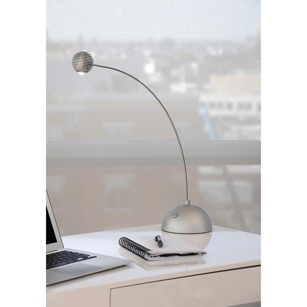 Atomic Truffle LED Silver Table Lamp