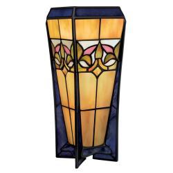 Tiffany Style Bronze Table Lamp - Thumbnail 0