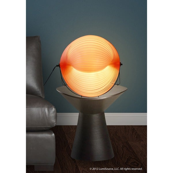 Modern Red Shell Table Lamp