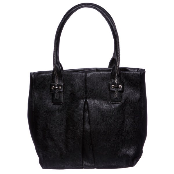 Jessica Simpson 'Zip Me Up' Black Tote Bag