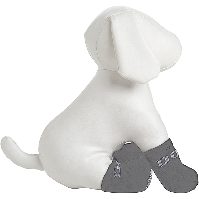 Petlife Rubberized Dog Socks (Pack of 4) (Pet Life Rubber...