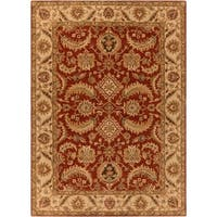 Hand-tufted Kings Bay New Zealand Wool Area Rug - 8' X 11'