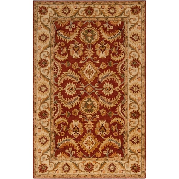 Hand-tufted Kings Bay New Zealand Wool Area Rug - 9' x 13'