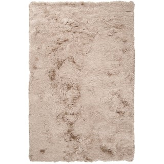 Hand-woven Beige Windsome Area Rug - 8' x 10'
