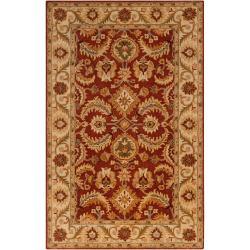Hand-tufted Kings Bay New Zealand Wool Rug (5' x 8')