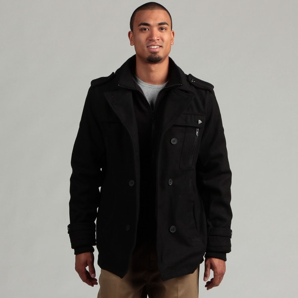 This is a photo of Clever Brave Soul Black Label Wool Coat