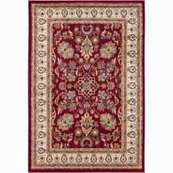 Artist's Loom Indoor Traditional Oriental Rug (5'3 x 7'9)