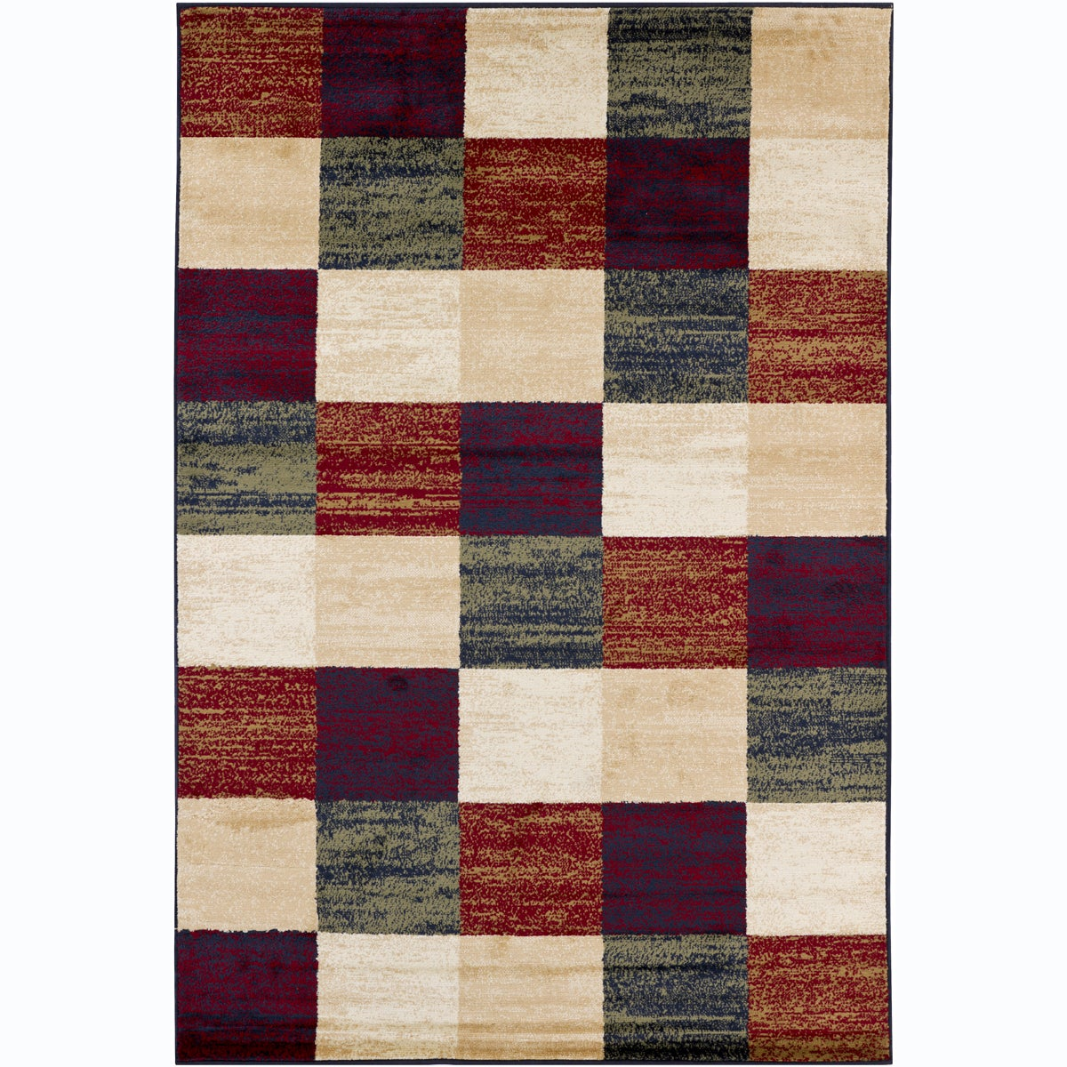 Artist's Loom Indoor Contemporary Geometric Rug - 8' x 11'