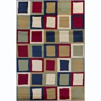 Artist's Loom Indoor Contemporary Geometric Rug - 2'8 x 4'7