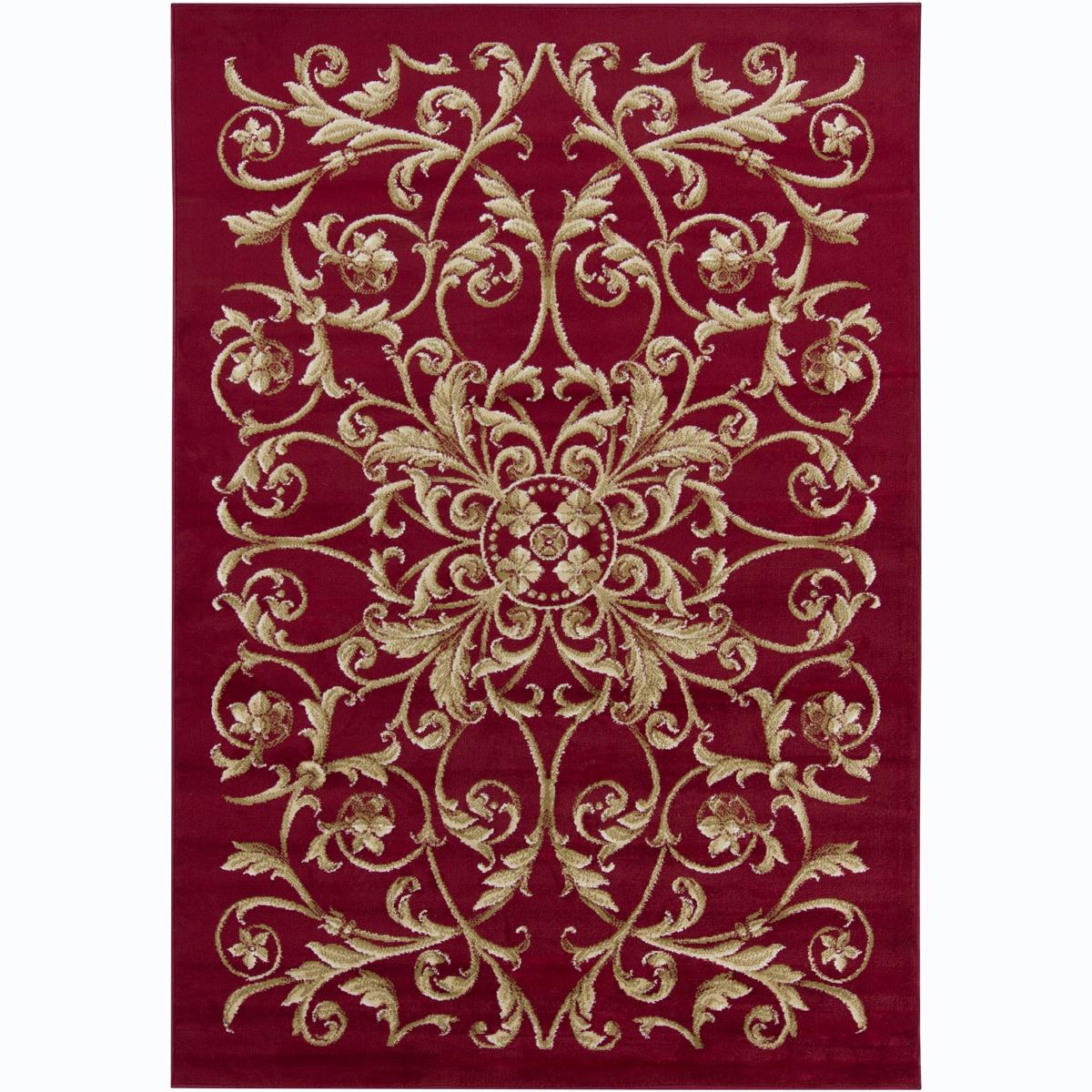 Artist's Loom Indoor Transitional Floral Rug (8' x 11'2)