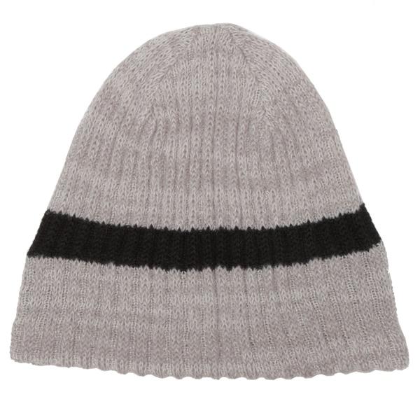 Minus33 Unisex 'Timber' Tan Stripe Merino Wool Lightweight Beanie Hat