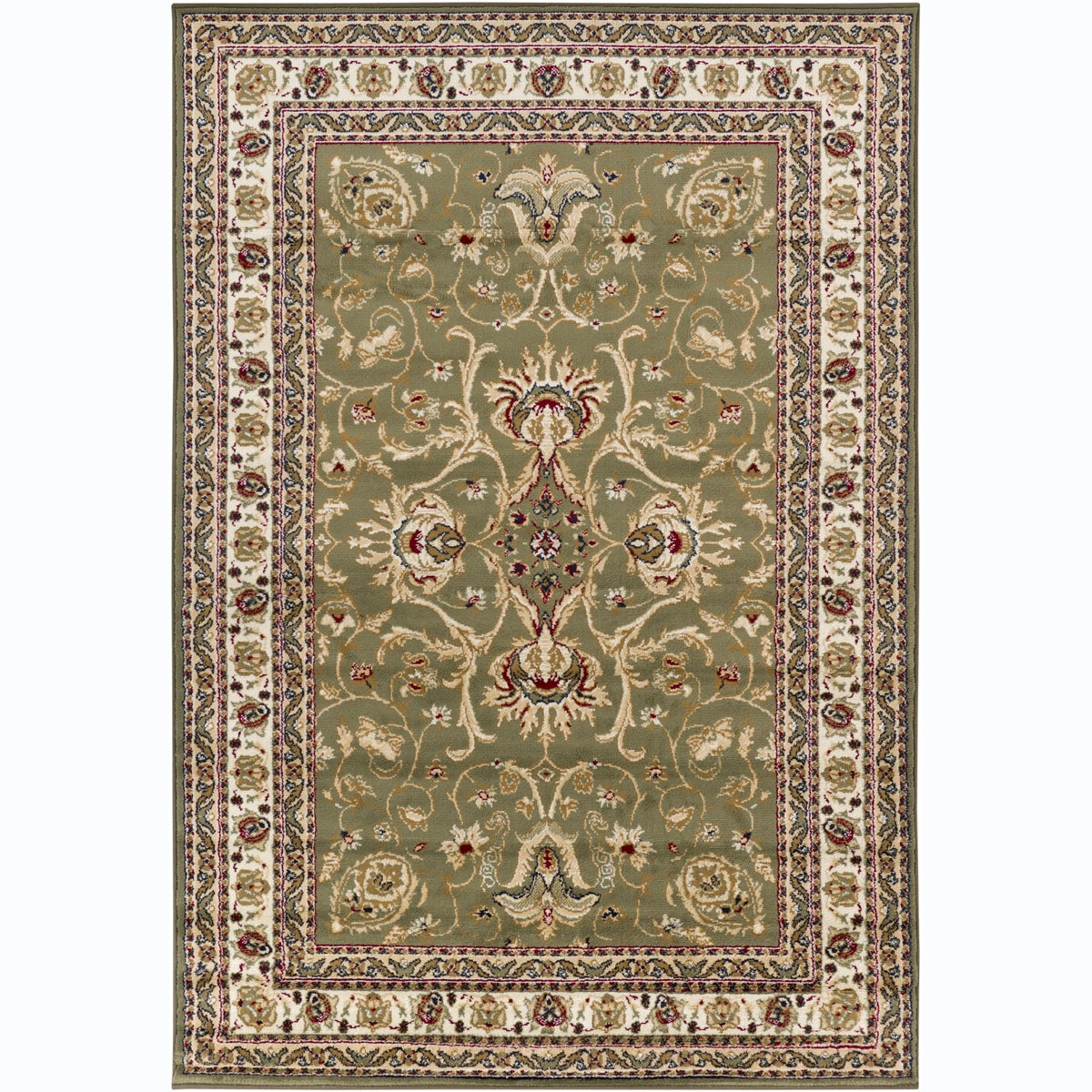 Artist's Loom Indoor Traditional Oriental Rug (8' x 11'2)